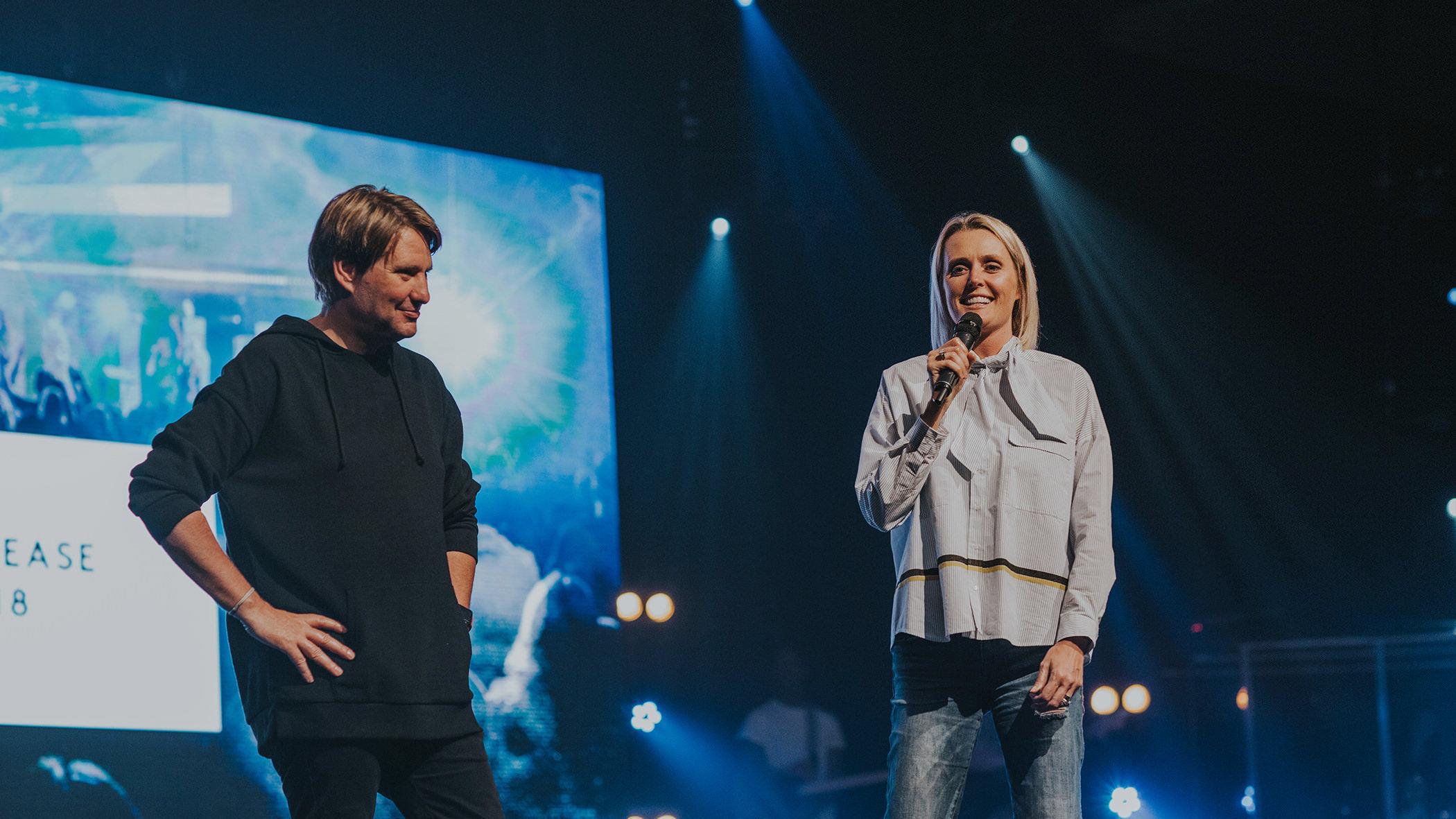 Pastor Steve & Charlotte Gambill